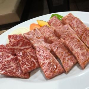焼肉 味道園 カルビ、レバー、ホルモン、ニンニクライス