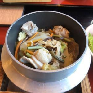 サガミ 純和鶏五目釜めし定食、カツ丼、ざるそば