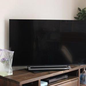 テレビ到着