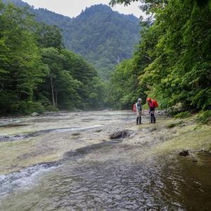 雑魚川 三段滝
