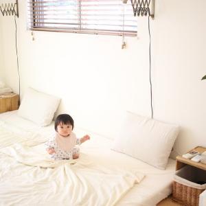 家族の寝室、プチ改造でシンプル&すっきり過ごしやすくなりました。