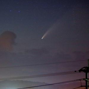 続ネオワイズ彗星