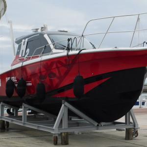 水素燃料電池テストボート