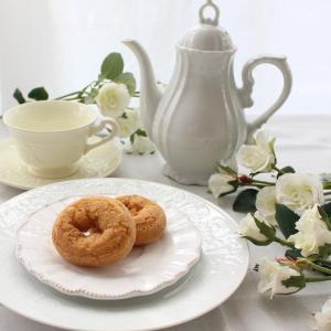今日の間食は低糖質のドーナツ♥