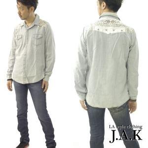 ★MADE IN USA デニムウェスタンシャツ!「JAK」★