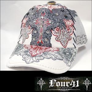 ★男女問わず、プレゼントにもおススメの帽子♪Four41 Los Angeles★