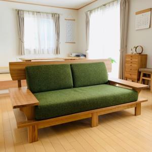 新しいソファは、和風⁉︎☆