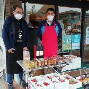 原田農園さん店頭販売 2021.4.17