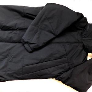 『ウィンドプルーフ中綿ビッグコート』をGUで買って着たんだ【ジーユー】防風フィルムで防寒性を高めたモンスターパーカー