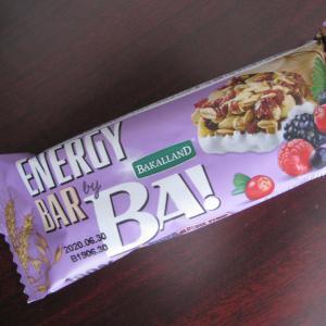 『シリアルバー(5種のフォレストベリー)』を業務スーパーで買って食べたんだ【神戸物産】BAKALLAND BA!、Cereal Bar (5Forest Berries) 40gで税別58円
