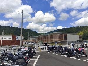 新しい道の駅 と 千枚田