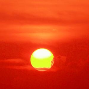 東京ゲートブリッジの夕景心象風景(8月9日 寫壇太陽撮影会)