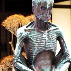 西光院の若き釈迦像 (1月 東川口にて)