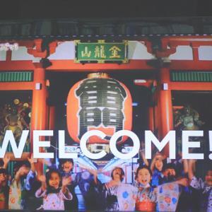 東京五輪開幕(7月23日 NHKテレビより)