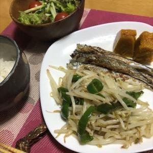 あるもので・・簡単夕飯
