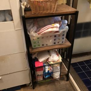 ♪100均〜ダイソーの収納BOXで洗面所を〜♪