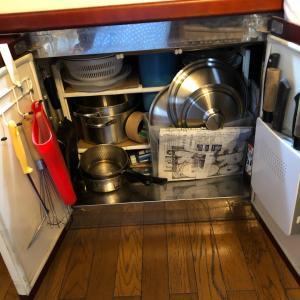 ♪100均〜ダイソーの鍋蓋スタンドを使ってシンク下を〜♪