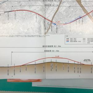 大山駅付近の連続立体交差事業について