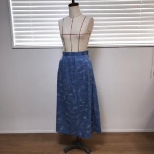 ワンピースから、スカート