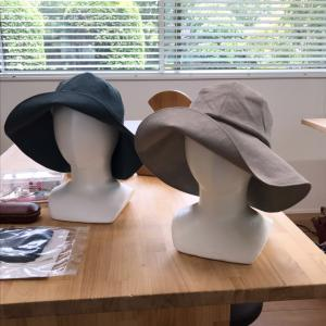今日の帽子教室