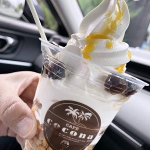 TAPIOCA CAFE COCONA 清流店@帯広/ソフトクリームラリー2021,13店目。