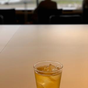 健康に気を使う朝@羽田空港