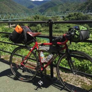 四国遍路自転車旅 (7-2)四万十川沿いにキャンプ場へ!