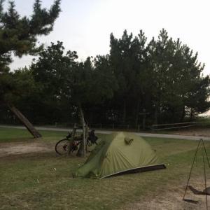 四国遍路自転車旅(8-2)キャンプから石鎚山横峰寺へ