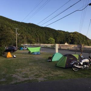 四国遍路自転車旅(3-2)恵比須浜キャンプ場はソロキャンプ天国