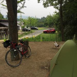四国遍路自転車旅(5-2)まんのう池キャンプ