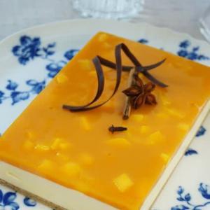 マンゴーとスパイスのお菓子