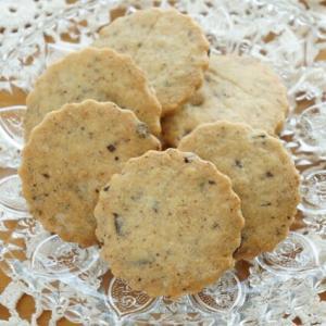 ヘーゼルナッツとチョコのクッキー