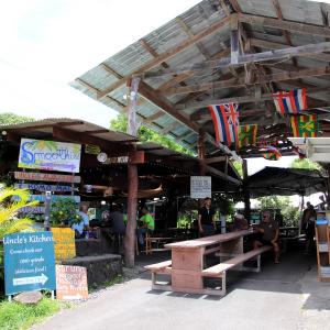 2019ハワイ旅 - カラパナの掘っ建て小屋フードコート