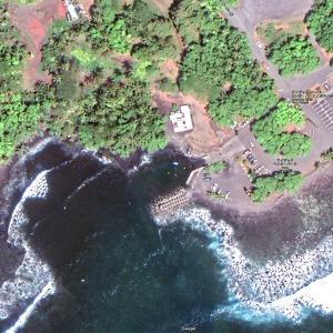 2019ハワイ旅 - 一夜で出来たブラックサンドビーチ!?