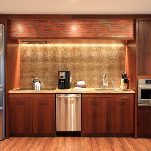 2019ハワイ旅 - ヒルトン グランドアイランダー1ベッドルームプラスのキッチン