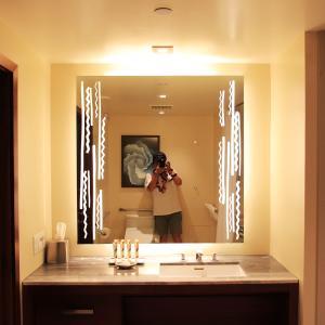 2019ハワイ旅 - ヒルトン グランドアイランダー1ベッドルームプラスのバスルーム