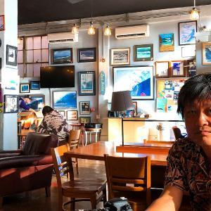 2019ハワイ旅 - サーファーズ コーヒーバーでアサイーボウルの朝ごはん