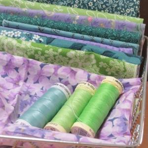 使いたかった布 / 白い紫陽花