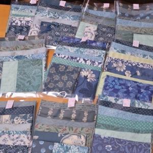 布のセット / キンモクセイの二度咲き