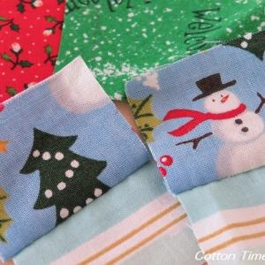 クリスマスの小物作り / 布セット / 夕焼け