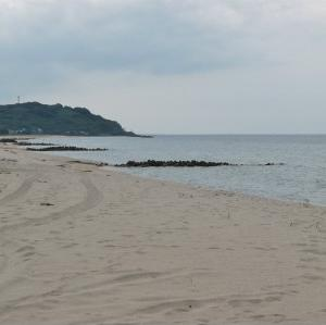 8月のキス釣り第10弾(湯梨浜町)