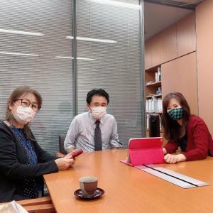 串田議員にプレゼン✦いのちの授業