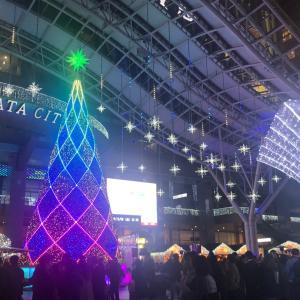 博多駅イルミネーションの季節に果たして誰かと行けるのか?