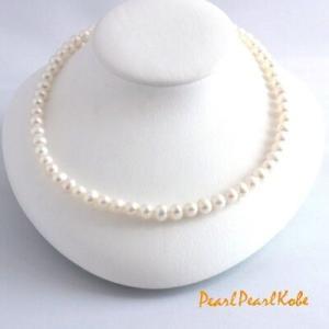 淡水真珠 パール1連スタンダードネックレス