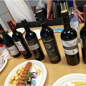 昼間にワイン部、開催!