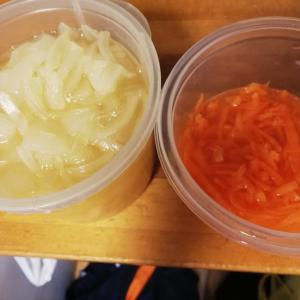 酢玉ねぎのリメイクで簡単ピクルス