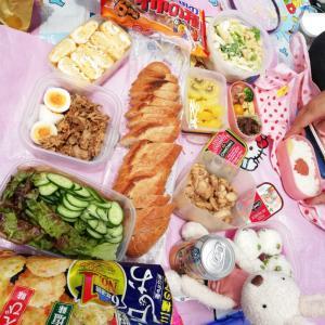 月1カフェであそぼう~でピクニック