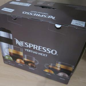 ネスプレッソマシンのVERTUOをコストコで衝動買い、、、