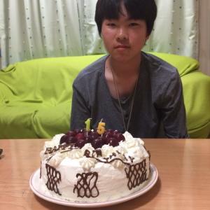 長男の15歳バースデー!!