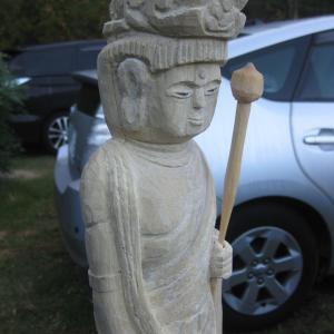 聖観音菩薩の彫刻